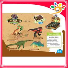 mechanical dinosaur toy plasitc dinosaur in egg DIY for kids