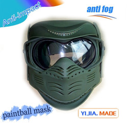 Military full face army green paintball mask wargame gear army green paintball mask factory supply paintball equipment mask