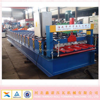High configuration 24-210-840 zinc roofing sheet roll forming machine