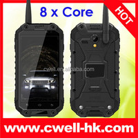 4.7 Inch Android 4.4 Kitkat 13MP Camera MTK6592 Octa Core UHF Walkie Talkie ALPS X8 IP67 Waterproof Smart Mobile phone