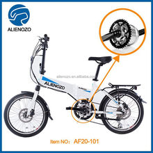 high quality Fashion folding e bike with EN15194 , moped new cheap , mid drive system