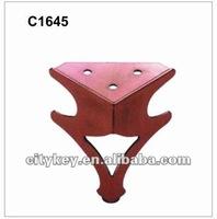Antique Copper, Steel Furniture Legs C1645