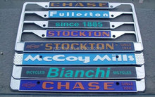 Car license plate frames