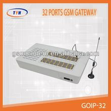 Newest and best price 32 ports GSM VOIP GATEWAY for call terminal 32 port fxs gateway