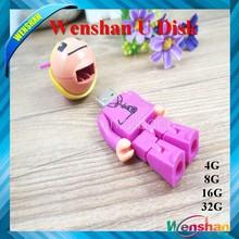 Plastic nurse pen stick USB flash disk,Medical nurse shape USB,Customized plastic nurse USB disk