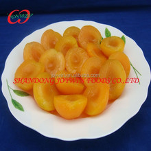 Private label canned apricots in light syrup, canned apricot halves manufacturer