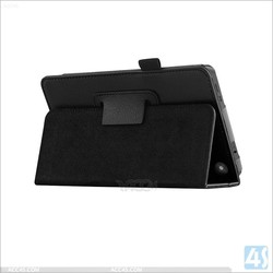 Side Flip Tablet PC Leather Case for Amazon Kindle Fire HD 6