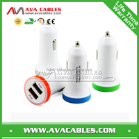 2014 new product hot sale 3.1A usb car charger adapter for iPhone charger