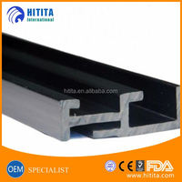 High quality plastic extruded profiles PVC/ABS/PC/PE/PP extrusion plastic profile