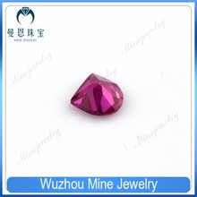 Mine jewelry newest special shape ruby corundum gemstones