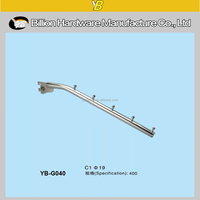 YB-G040 excellent product slot hook wall hook clothes hook