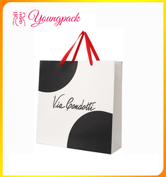 high quality customize paper packing bag for shopping