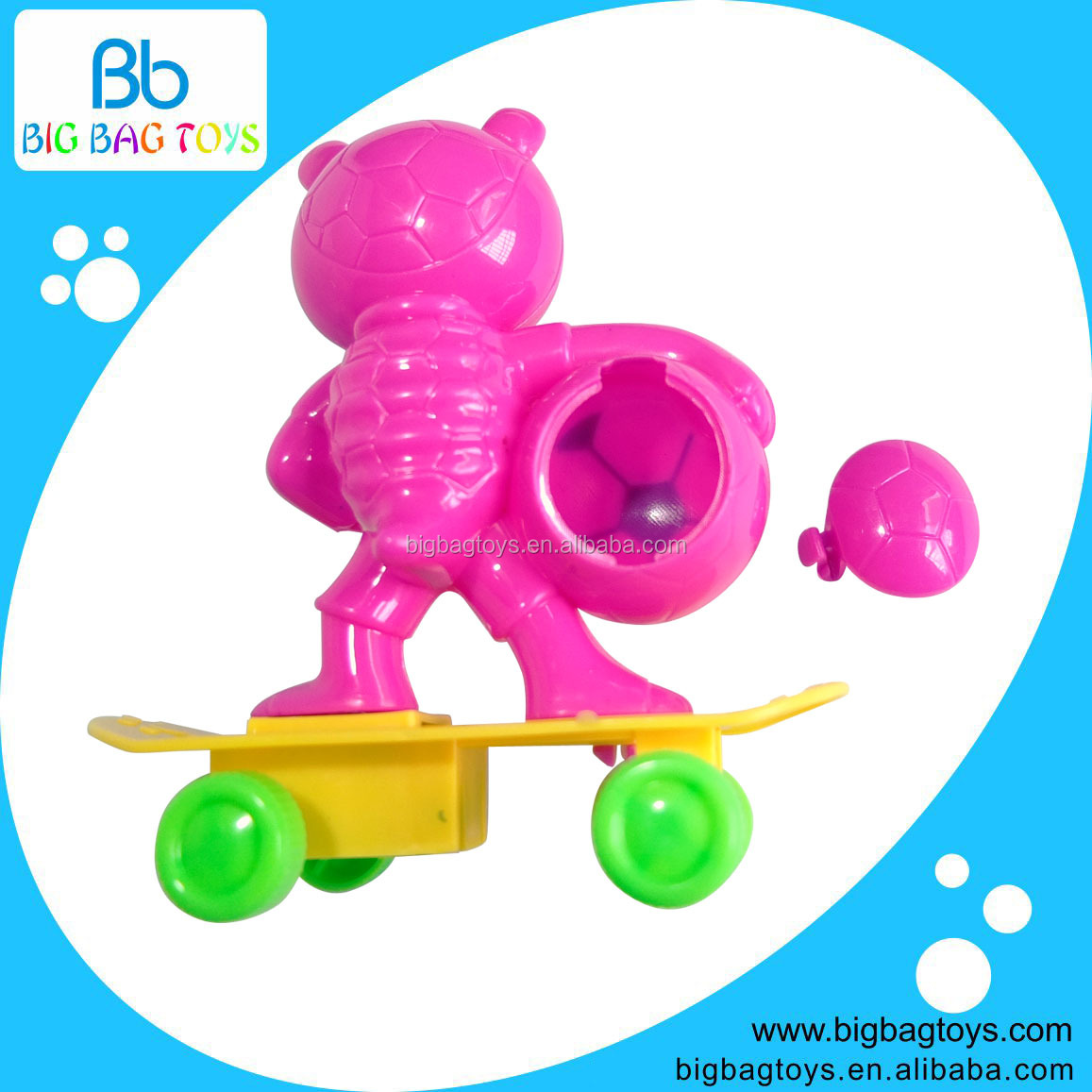 2014 new plastic cand toys to hold candy as promotional gift