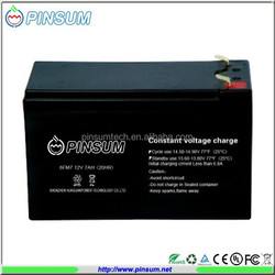 Factory price Sealed lead acid battery 12v 7ah maintenace free battery for e-bike