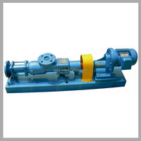 Industry slurry fluid electric high quatity single screw progressive cavity pump manufacturers with stator pumping unit