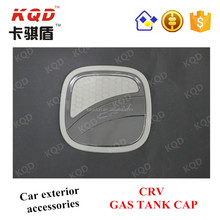 World best selling products ABS car Chrome and White accessories gas tank cap for CRV 2015 accessories cover new auto body tank