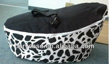 deluxe and original black baby seat, fashion baby toddler bean bag chair, attractive kids beanbag sofa chair