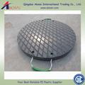 Uhmwpe / HDPE à prova d ' água de plástico Anti estático portátil temporária outrigger pad / guindaste tapetes cribbing