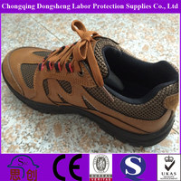 Steel Toe Designed Safety Hiking Shoes with Air Holes