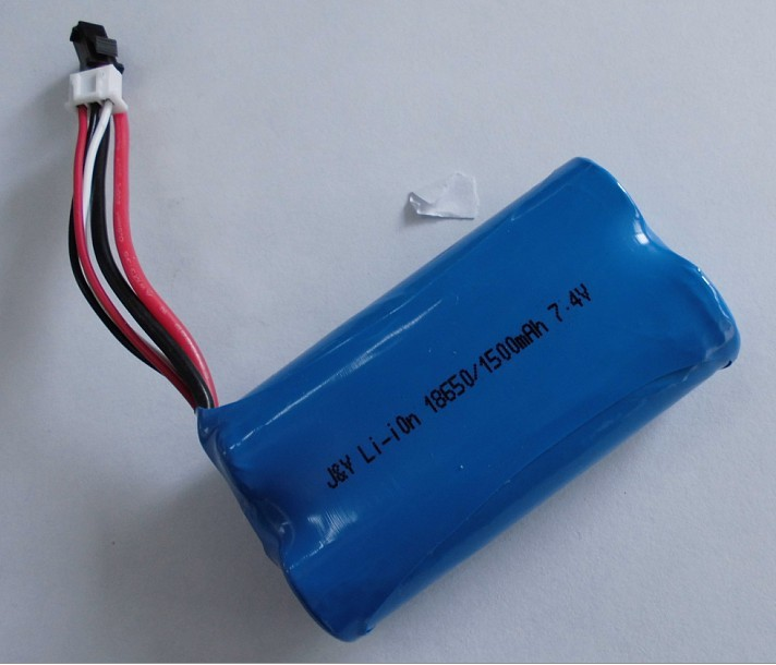 18650 Li Ion 2s1p 7 4v Battery Pack With Pcb Protected
