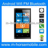 2013 Hot sell!! Cheap mobile phone Android 4.1.2 dual sim 3.5inch M-HORSE MINI 920