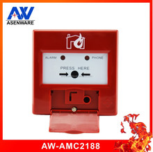 2 Wire 24V DC Emergency Addressable Resettable Manual Call Point Used For Fire Alarm System