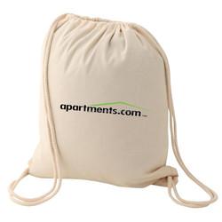 2015 best sell 12 oz cotton canvas drawstring bag/ cheap storage bag