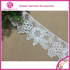 Wholesale Fashion Embroidery 100% Polyester Black Embroidery Lace Trim