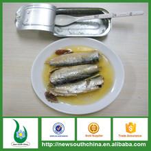125g sardine in scatola in olio vegetale