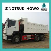 2015 China export standard dump truck dimensions