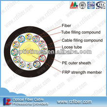 Non-metallic Reinforced Core Layer Aerial or Duct Single mode fiber optic cable price list