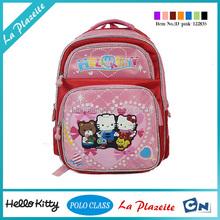 2015 wholesale cheap price hello kitty school bag