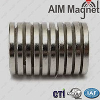 Industrial Application Neodymium Disc Magnets