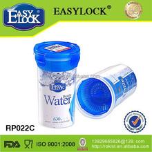 Popular food grade raw material of travel tea bottle wholesale
