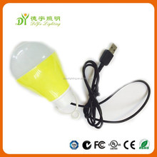 DC 12V 5w usb led lamp hot new product for 2015 with 5730smd