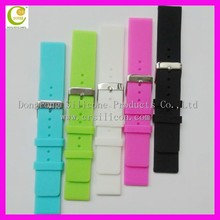 For apple watch silicone band case favorable hot selling silicone watch band wrist band watch accessory wrist strap for swatch