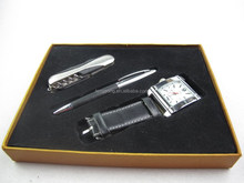 watch+tool knife+pen suits,Advertising promotional pen gifts,pen gift setsTS-p00139