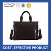 Plain tote shoulder bags mens leather executive bags