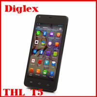 Newest Original THL T5 smarphone MTK 6572W android 4.2 4.7inch QHD 4GB ROM WCDMA