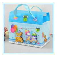 colorful paper baby sweet and candy box