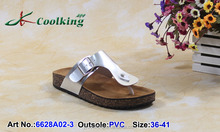 2015 New style High quality Cheap price classic design Coolking PVC Slippers Ladies leather chappal Wholesale flip flops 2015