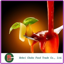 etiquetado privado de tomate en conserva con pasta de fábrica