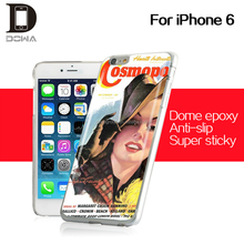 Fashionable and useful epoxy case hard cover for iphone 6s mobile phone
