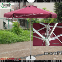 umbrella manufacturer parts aluminum frames 6ribs outdoor parasol parts FS-059