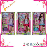 11.5 Inch Doll Educational Toy Plastic Baby Doll