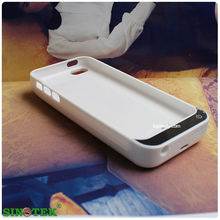 SINOTEK oem battery charger case 4200mAh mobile phone battery case for iphone 5 5c 5s