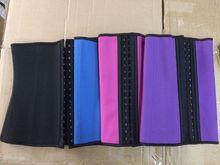 Sexy Lingerie Rubber 3 rows of hooks Latex sport Colombian Waist Cincher, perfect shapewear