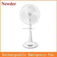 16 inch rechargeable standing fan Sri Lanka hot sell