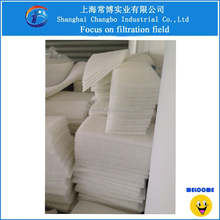 Air cleaner/polyester air filter media for air conditioning and ventilation system