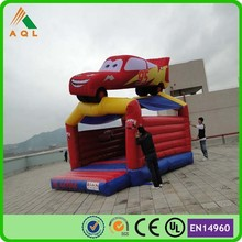 popular car games kids construction truck inflatable bounce house for sale